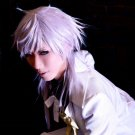 Black Butler Charles Grey 50cm silver white cosplay wig