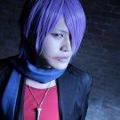 Lucky Dog1 Giulio Di Bondone Mad dog short purple anime cosplay wig