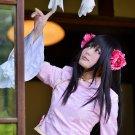 APH Axis powers Taiwan long black 60cm anime cosplay wig