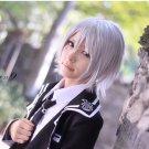norn9 Ichinose Senri short silver white anime cosplay wig