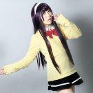 Code Breaker Sakurakouji Sakura long 100cm black purple mix anime cosplay wig