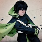 Seraph of the end Hyakuya yuichiro short black cosplay wig