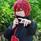 NARUTO Sasori Akasuna no Sasori short red anime cosplay wig