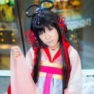 vocaloid China Yuezheng Ling Yihong Lian 100cm black cosplay wig