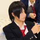 Rainbow Days Naoe Tsuyoshi short black cosplay wig