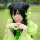 Hua Qian Gu Biyao Lin Fengzi 80cm black cosplay wig