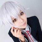 K-project Yashiro Isana short silver white cosplay wig