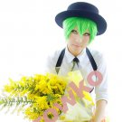 BlazBlue Calamity Trigger Hazama short green anime cosplay wig