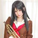 hibike! Reina Kousaka long 80cm black anime cosplay wig