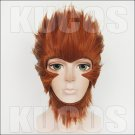 Monkey King Hero Is Back King of Heroes Son Goku short brown anime cosplay wig