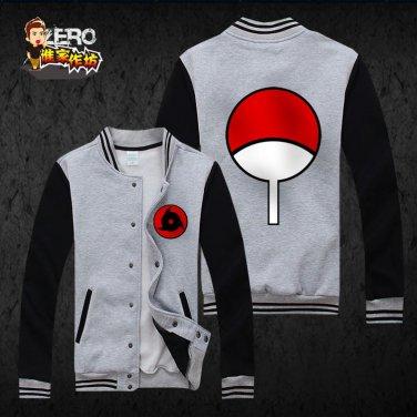 Naruto Uchiha Itachi anime cosplay Baseball clothes uniform sport suit hoodie