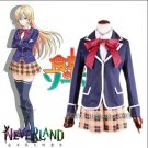 Shokugeki no Soma Nakiri erina anime cosplay costume school uniform