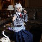 Anna Nishikinomiya anime cosplay costume school uniform
