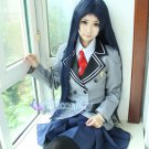 Kajo Ayame anime cosplay costume school uniform