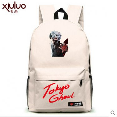 Tokyo Ghoul Kirishima Touka Ken Kaneki anime cosplay bag school bag student backpack 11