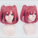 LoveLive! Sunshine!! Kurosawa Ruby red short anime cosplay wig