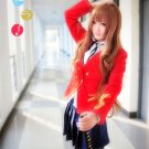 Dragon Hudou Aisaka Taiga anime cosplay costume uniform
