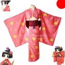 Gugure! Kokkuri-san Puripara Pripara Ichimatsu Kohina cosplay costume kimono