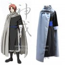 Silver soul Gintama kamui anime cosplay costume clothes cape cloak