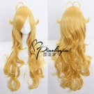 RWBY Yellow Trailer Yang Xiao Long curly yellow cosplay wig