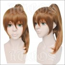 Hybrid child brown anime cosplay wig
