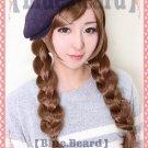 Osomatsu-San todo mats brown braid anime cosplay wig