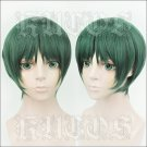 Prince of Stride Alternative Kadowaki Ayumu short green anime cosplay wig
