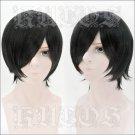 ALTERNATIVE Yagami Tomoe PRINCE OF STRIDE ALTERNATIVE short black anime cosplay wig
