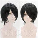 BORUTO -NARUTO THE MOVI Uchiha Sasuke short black anime cosplay wig