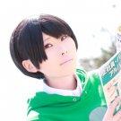 Osomatsu-San Matsuno Choromatsu short black anime cosplay wig