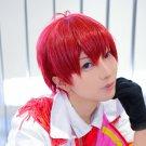 Osomatsu-San Matsuno Osomatsu F6 short red anime cosplay wig