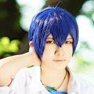 Osomatsu-San Matsuno Karamatsu F6 short blue mix anime cosplay wig