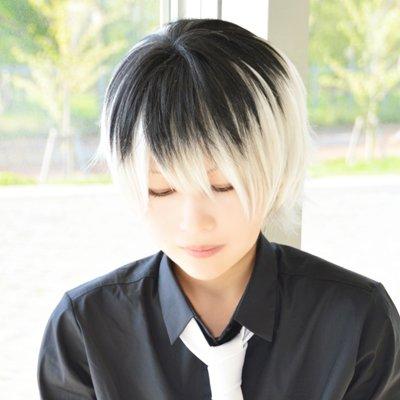 Tokyo Ghoul Sasaki Haise short black white cosplay wig