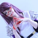 Tokyo Ghoul kamisiro rize 80cm purple mix cosplay wig
