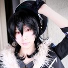 ensemble stars undead Sakuma Rei black cosplay wig