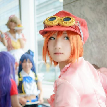 ONE PIECE Nami short orange cosplay wig