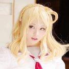 LoveLive!Sunshine Mari Ohara 45cm blonde cosplay wig