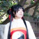 CARDCAPTOR SAKURA RI MEIRIN long 80cm black cosplay wig