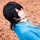 ensemble stars Sakuma Rei black cosplay wig