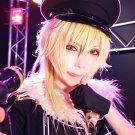 ensemble stars hakaze kaoru gold cosplay wig