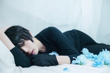 YURI!!! on ICE Katsuki Yuri short black cosplay wig
