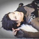 Katsuki Yuri YURI!!! on ICE black short cosplay wig