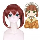 Kobayashi-chi no maid dragon Saikawa Sanae short cosplay wig