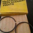 McCulloch 62814  Piston Rings Quantity 2