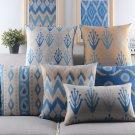 Mediterranean blue style pillow case,pop art fashion sofa Cushion Cover throw pillow cover