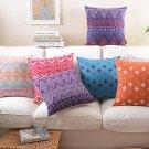 Decorative BOHO style pillow case,Geometry artistic fashion sofa Cushion Cover throw pillow cover