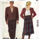 1980's LIZ CLAIBORNE Misses Jacket Skirt Pants Suit UNCUT McCall's 2212 Sewing Pattern Size 6