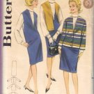 Vintage 1960's Misses Jumper Jacket Blouse Suit Butterick 3183 Sewing Pattern Size 14