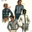 Butterick 3364 Mens Shirts Size 36