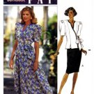 Butterick 4890 Sewing Pattern Leslie Fay Wrap Top & Skirt Size 6 - 10 - Bust 30 1/2 - 32 1/2